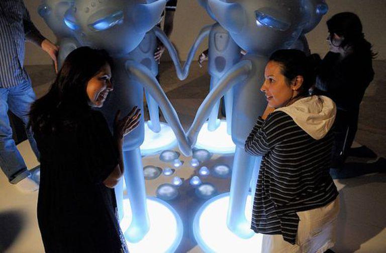 Oneness, a obra exposta em Brasília em 2011.