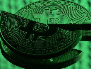 Recriação de um bitcoin.