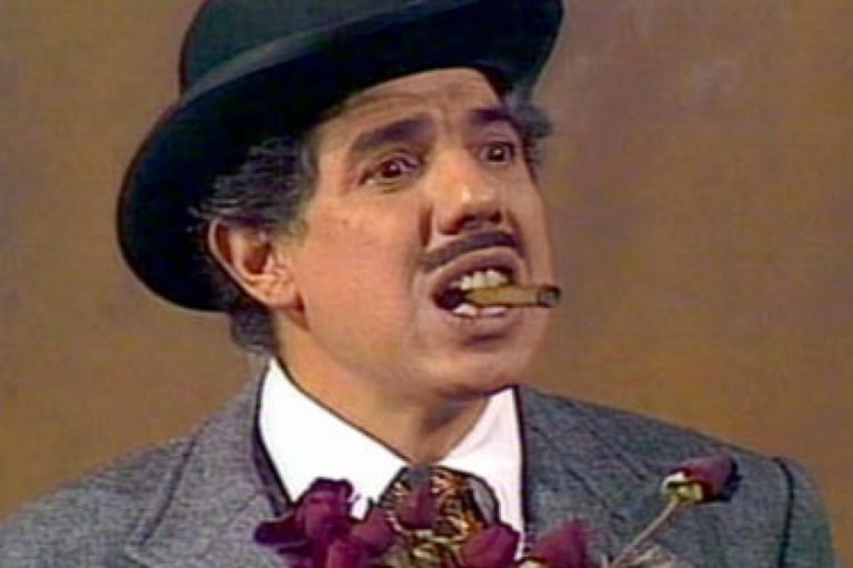 Rubén Aguirre, no seu papel de professor Girafales.