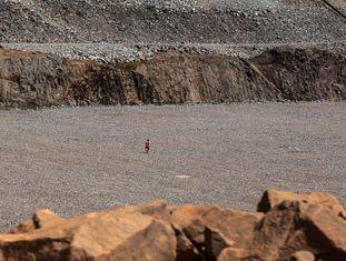 Um dos buracos artificiais de Belo Monte.