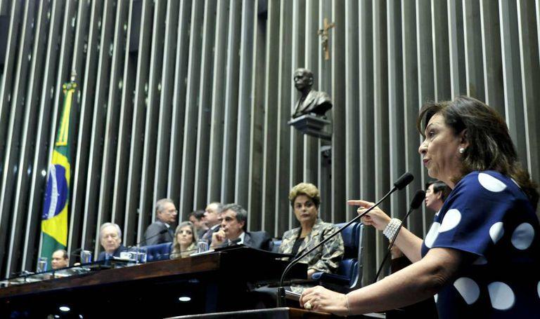 Senadora Kátia Abreu.
