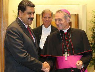 Papa Francisco recebe Nicolás Maduro em uma audiência privada e escala representante para dar início às negociações entre Governo e oposição