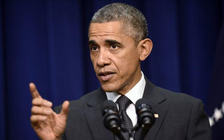 Presidente Obama durante ato na Casa Branca nesta quarta-feira.