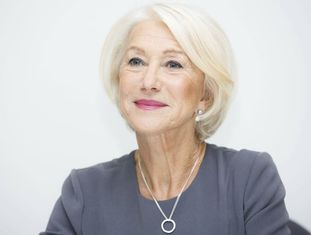 Helen Mirren numa entrevista no final de 2015.