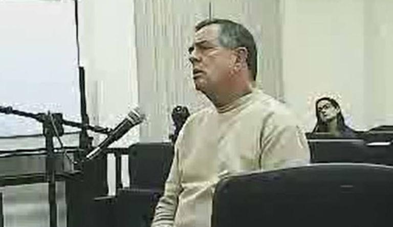 O coronel José Afonso Adriano Filho, preso por envolvimento em desvio de mais de 200 milhões de reais
