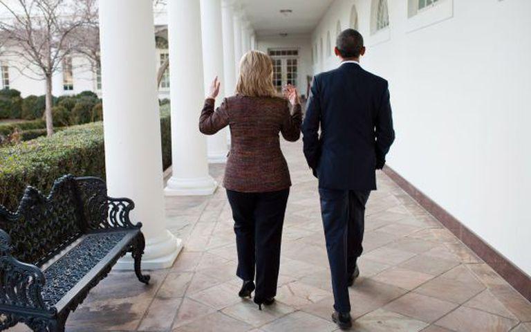 Obama e Hillary Clinton, em 2011.