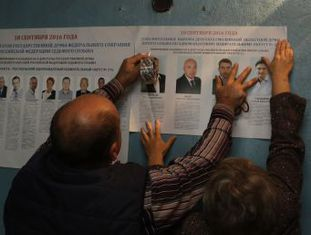 A crise devido à queda do petróleo e às sanções não põem em risco a vitória do partido do presidente
