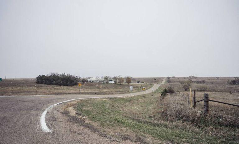 Arredores de Lebanon (Kansas).