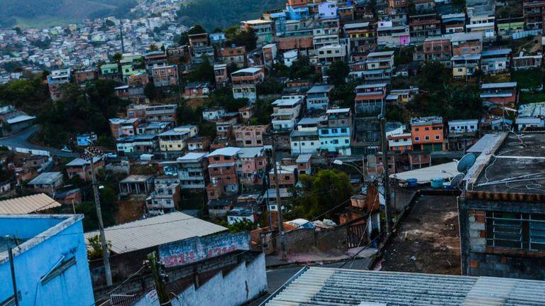 Favelas da cidade de Juiz de Fora.