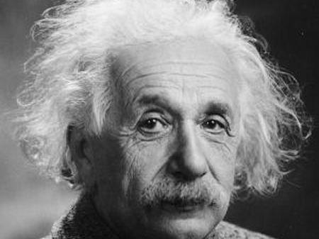Albert Einstein, quando já era um famoso físico nos EUA.