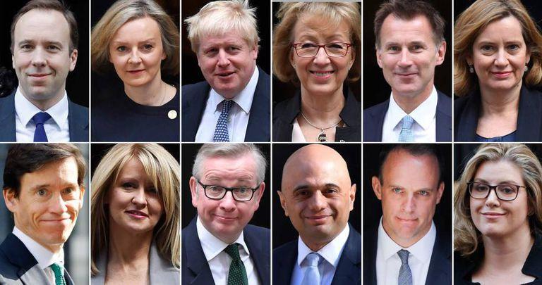 Um número bastante elevado de 'tories' disputa a sucessão da primeira-ministra britânica, Theresa May