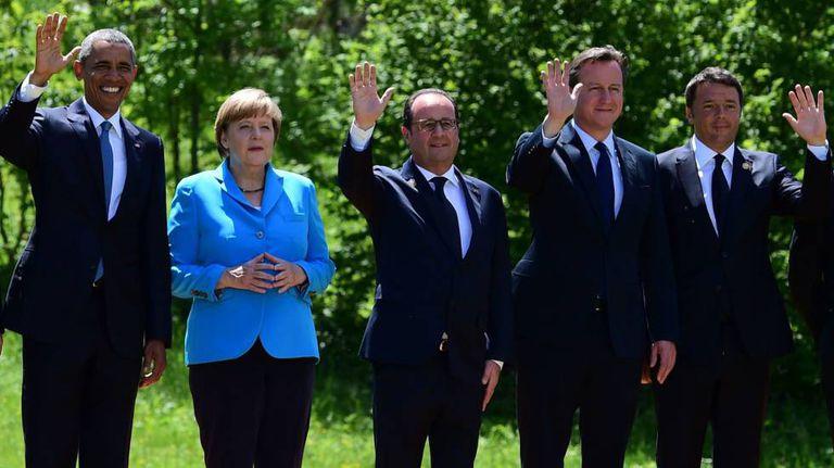 Reunião do G7, em julho.