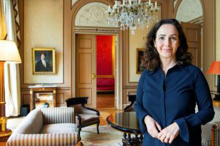A prefeita de Amsterdã, Femke Halsema, em 26 de junho.