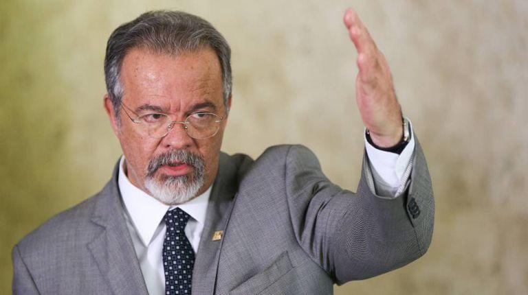 O ministro da Defesa, Raul Jungmann.