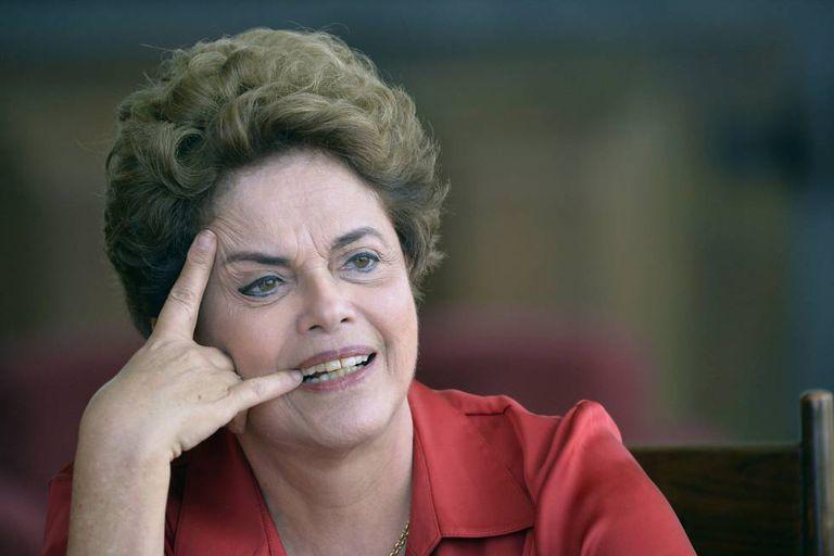 Dilma Rousseff em entrevista no dia 18.