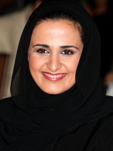 Mayassa bint Hamad al-Thani, filha do penúltimo emir do Catar.