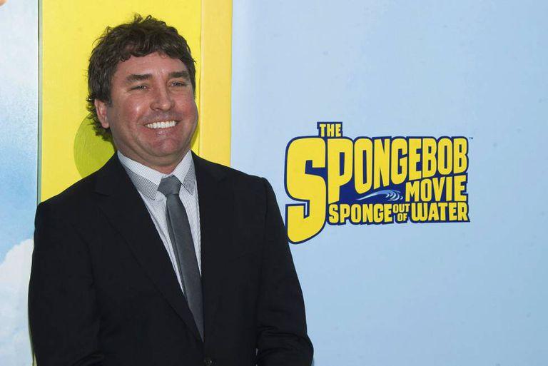 Stephen Hillenburg, criador de 'Bob Esponja'.