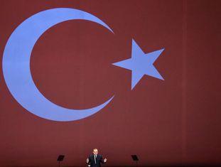 O presidente turco, Recep Tayyip Erdogan, no dia de 10 de julho.