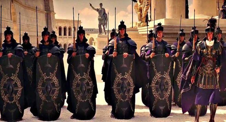 A guarda pretoriana de 'Gladiador'