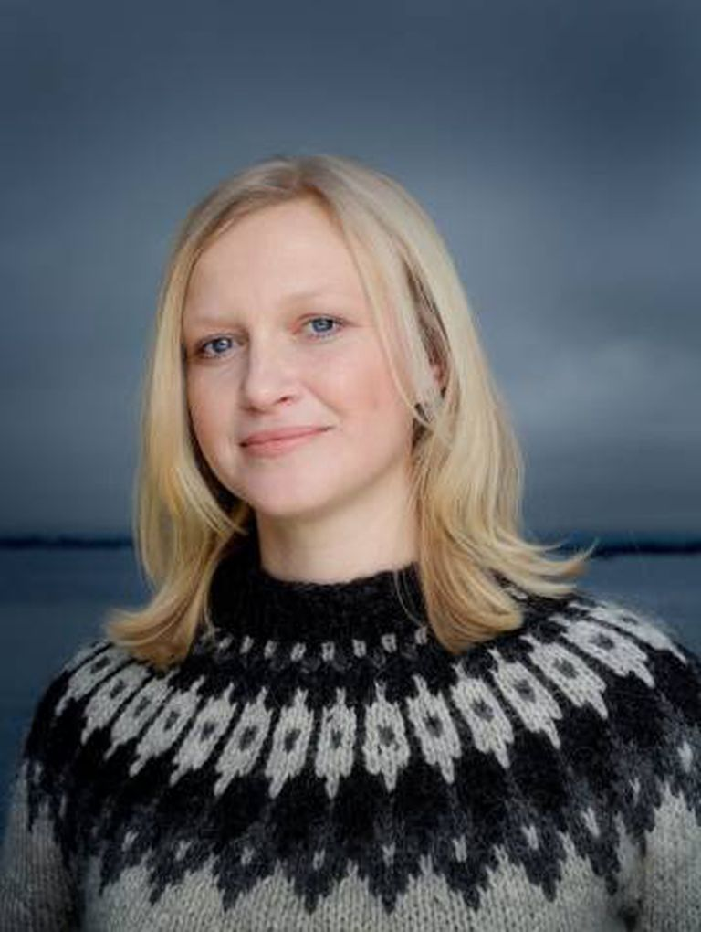 A autora Maria Parr