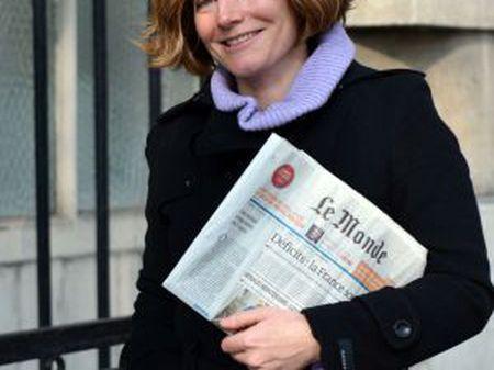 A jornalista Natalie Nougayrède.