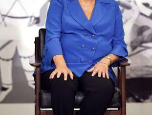 Dilma durante cerimônia no Palácio do Planalto nesta quarta-feira.