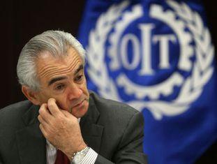 O Diretor da OIT para a América Latina e o Caribe, José Manuel Salazar.