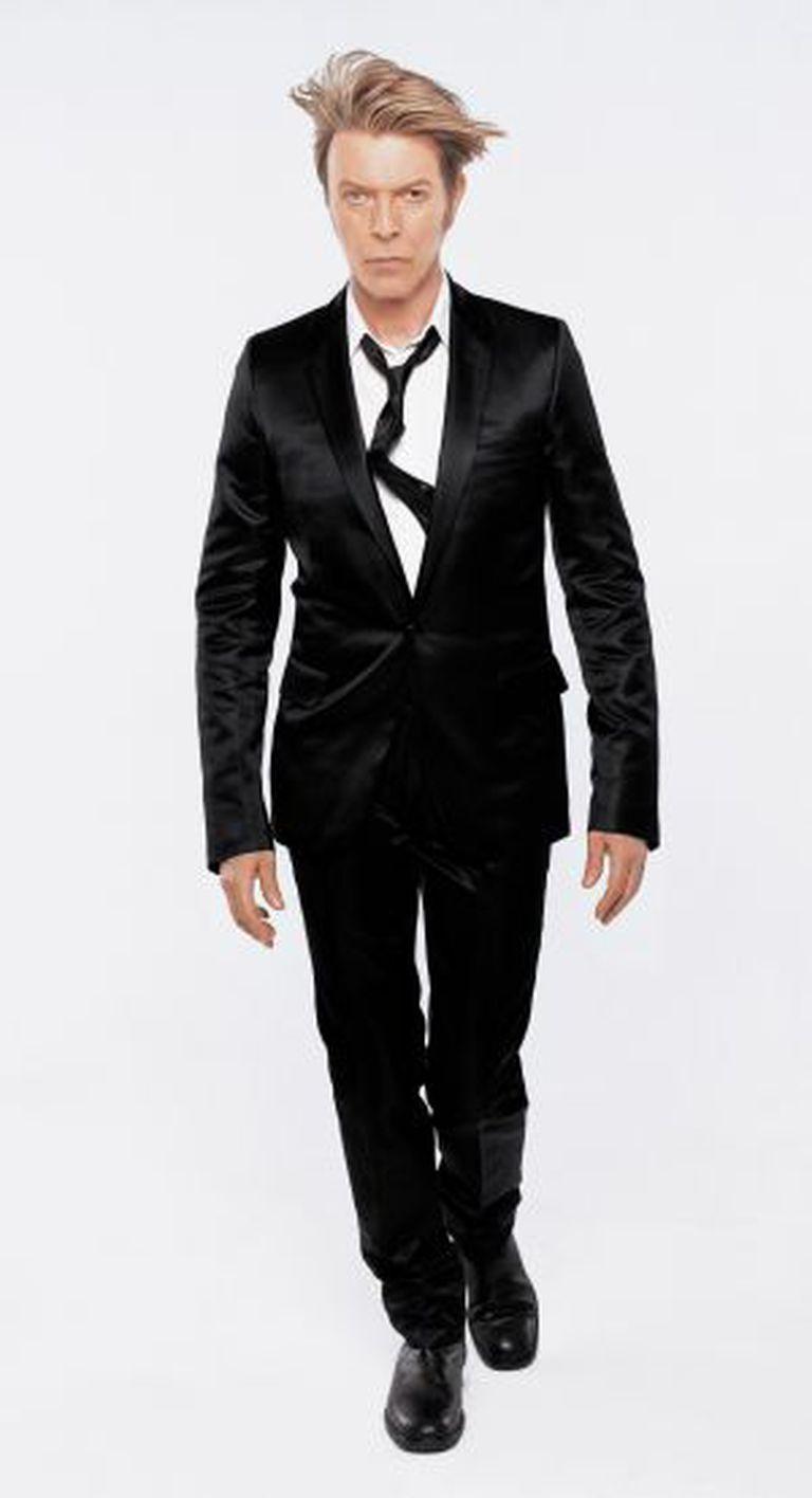 O cantor David Bowie.