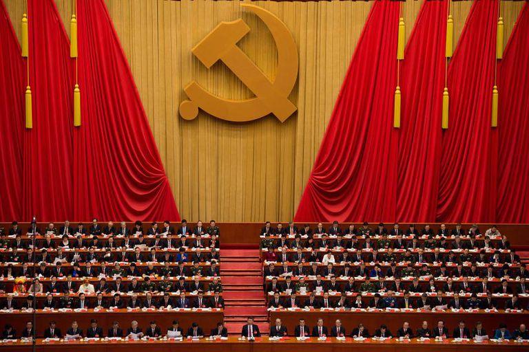 Xi Jinping,em 24 de outubro, no XIX Congresso do Partido Comunista.