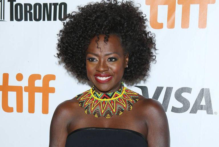 Viola Davis, em Toronto.