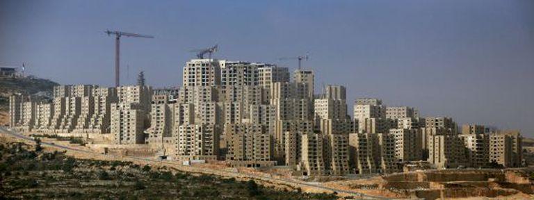 A cidade de Rawabi, ao norte de Ramallah, em abril.