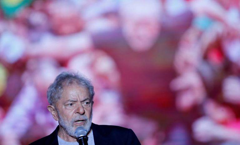 Lula da Silva em Recife, Brasil, no domingo passado.