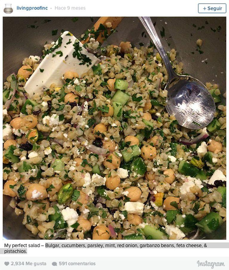 A salada perfeita, segundo Aniston