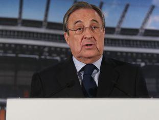 Florentino Pérez, presidente do Real Madrid.