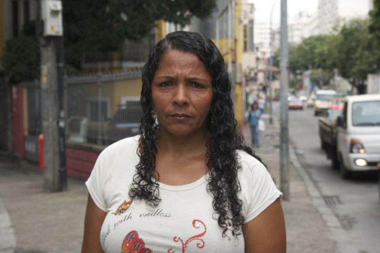 Terezinha, mãe de Eduardo, no Rio.