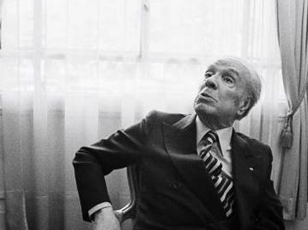 Jorge Luis Borges em foto de 1979, em Paris.