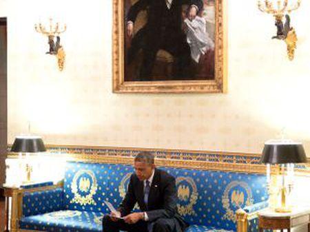 O presidente Obama, na Casa Branca.