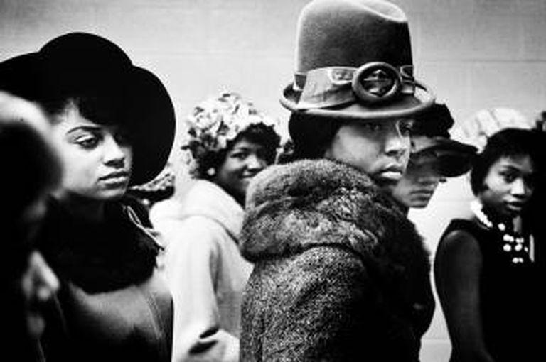 Desfile de moda no Harlem, 1963