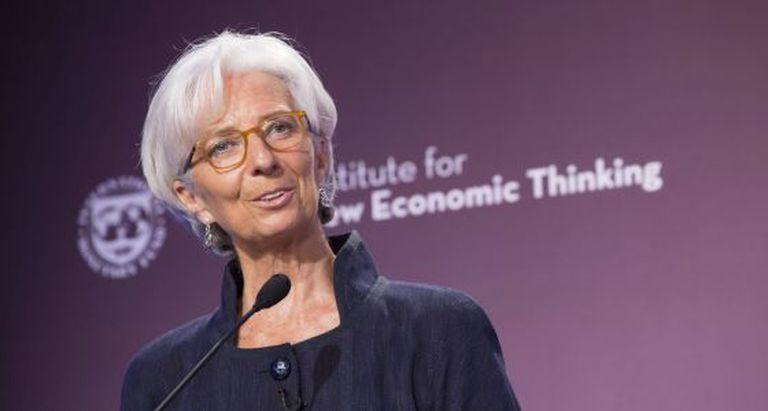 A diretora-gerente do Fundo Monetário Internacional, Christine Lagarde.