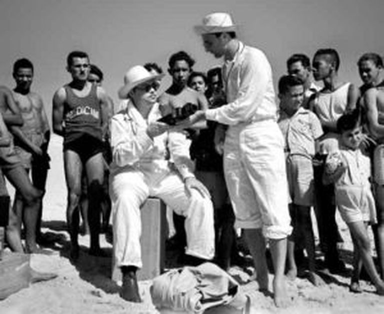 Welles durante passagem pelo Ceará.
