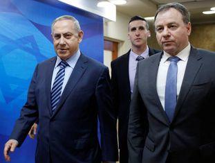O primeiro-ministro israelense, Benjamin Netanyahu, em Jerusalém.