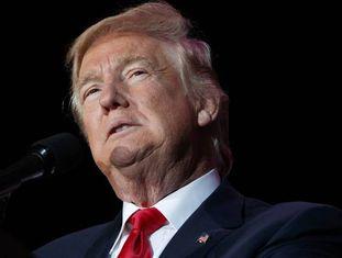 Trump, no último dia 16 em Orlando.