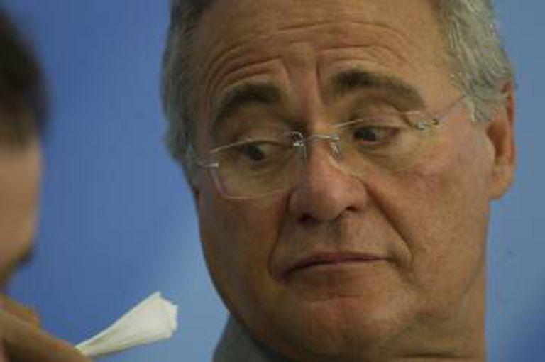O senador Renan Calheiros.