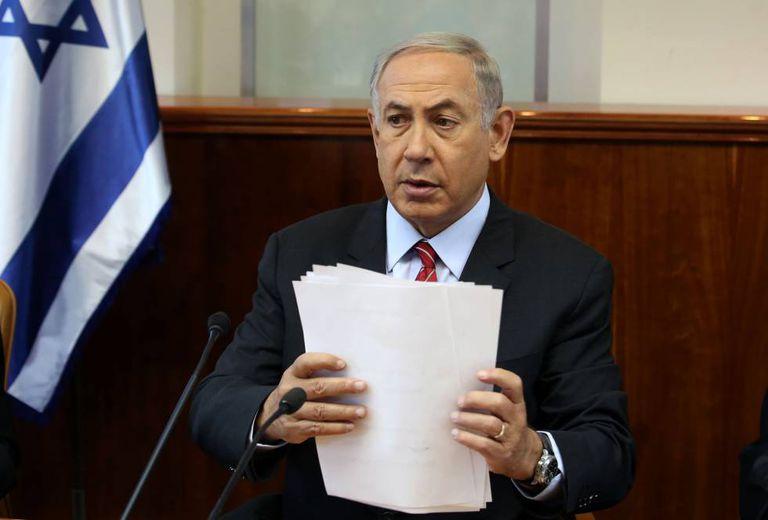 Benjamin Netanyahu, primeiro-ministro de Israel, no domingo passado em Jerusalém.