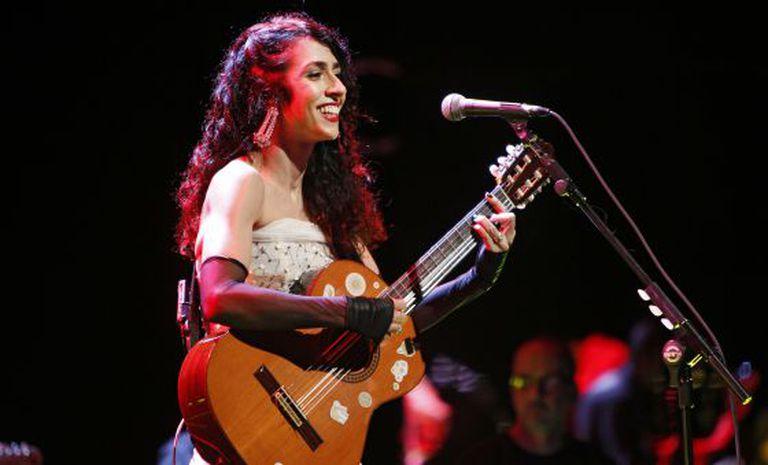 A cantora Marisa Monte, em junho de 2012.