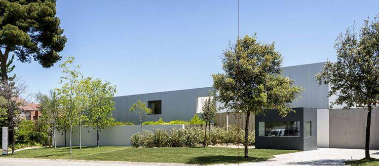 Casa projetada por Kogan perto de Madri.