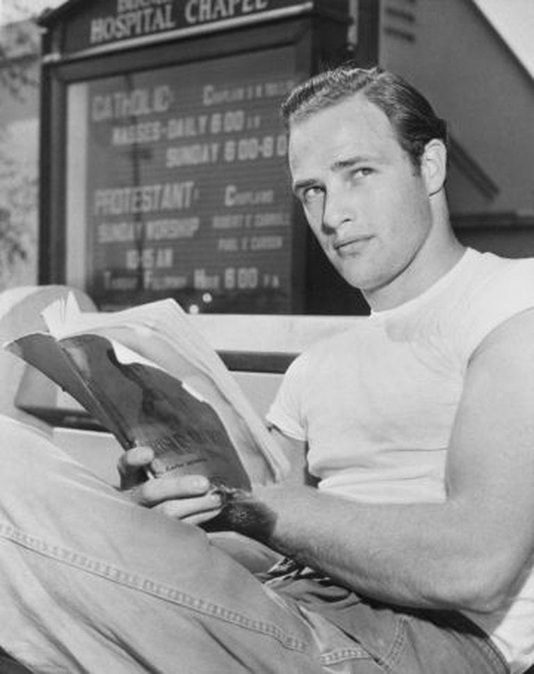 Foto de Brando em 1949.