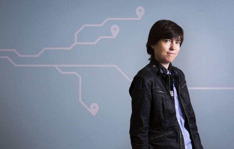 Raquel Urtasun, no centro Advanced Technologies Group da Uber, em Toronto.