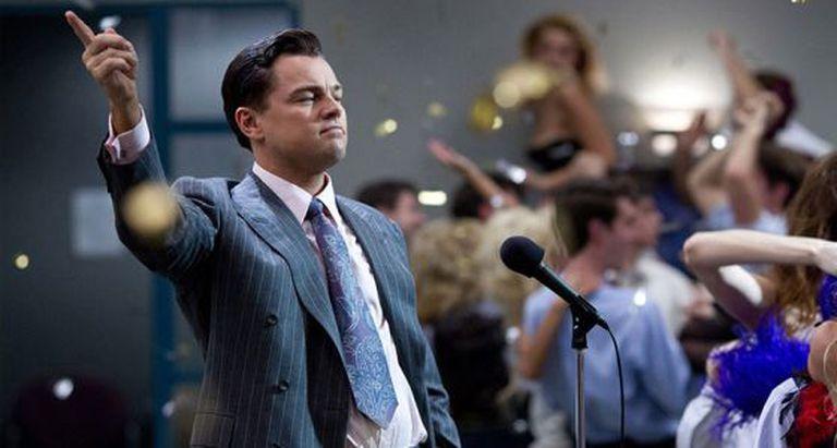 Fotograma de 'O lobo de Wall Street', de Martin Scorsese.