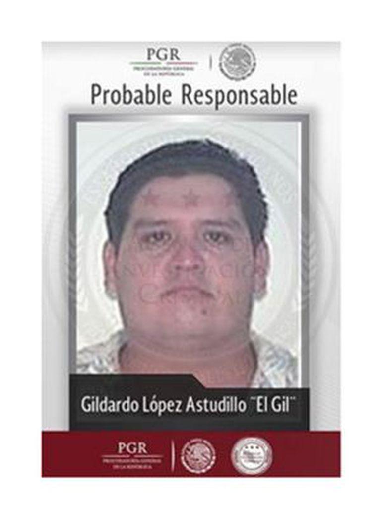 El Gil, o pistoleiro preso.